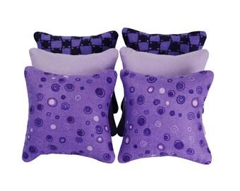 Purple Catnip Pillows (set of 6)
