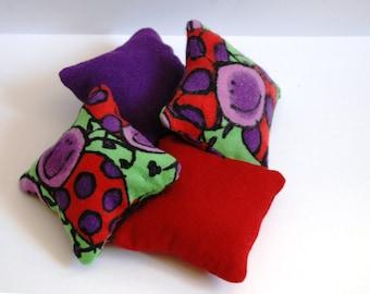 Catnip Pillows (set of 4)