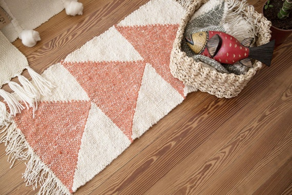 Arrow Small Area Rug Hand Craft Tapestry Navajo Rug Woven Etsy