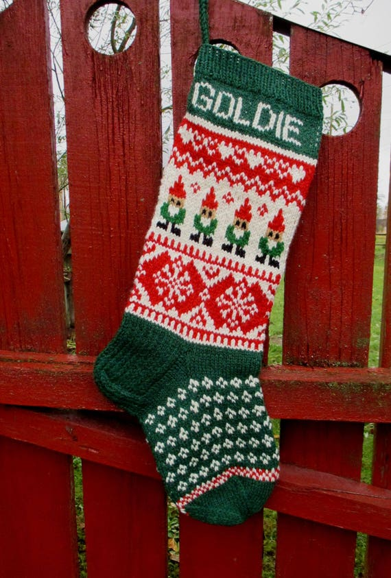 WILL SHIP IN 2019 Knit Christmas Stockings 24 or | Etsy