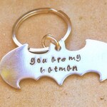 Batman, Batman Keychain, Boyfriend Gift, Personalized Batman Gifts, natashaaloha