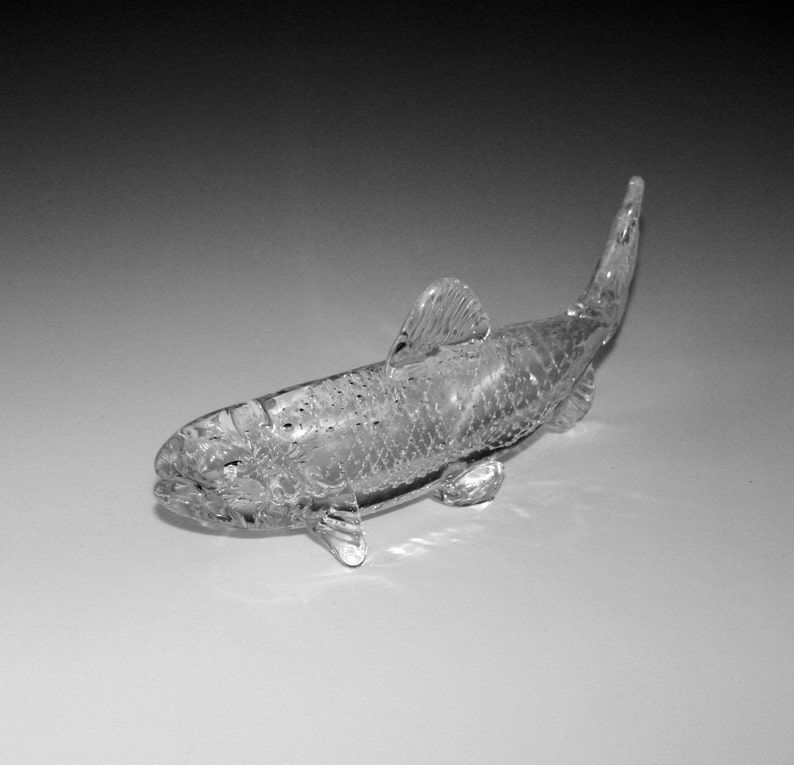 Pet Contact Us at www.kevinfultonglass.com For Other Memorial Glass TroutSalmon Sculpture Cremation Ashes