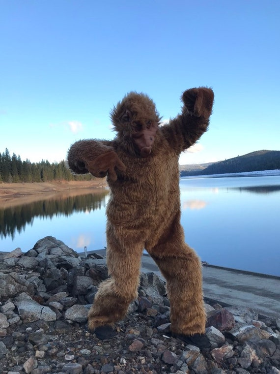 80s Alf costume large eighties sitcom novelty fur