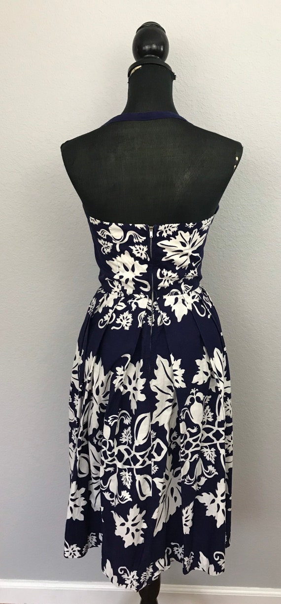 1950s Kamehameha Hawaiian tiki dress - image 7