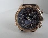 Citizen Eco-Drive Perpetual Calendar E820 Watch, Chronograph Alarm