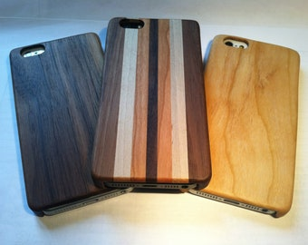 Handcrafted, eco-friendly hardwood iPhone 5 cases   perfect fit, choose from 3 styles.