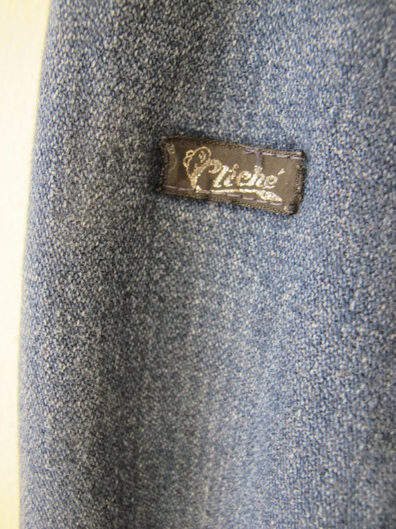 Vintage 70s High Waisted Jeans XS 24 waist - Wide… - image 3