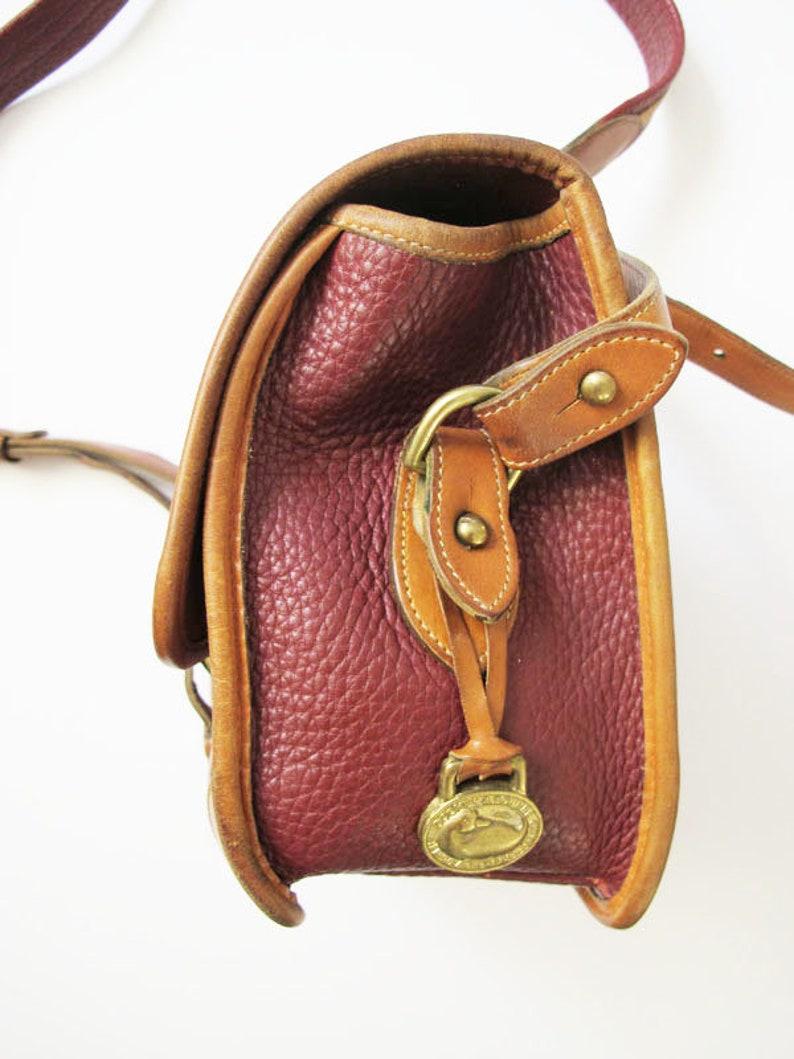 0f54d656c950 Vintage Dooney and Bourke Crossbody Bag Dooney Burke Pebbled