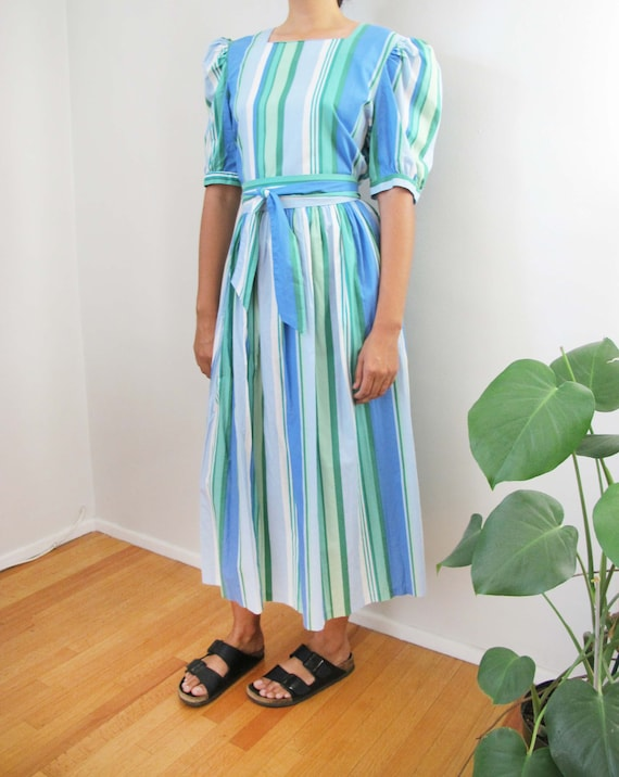 Vintage Laura Ashley Dress - 80s Laura Ashley Maxi