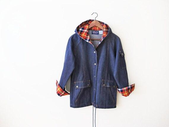 Vintage 70s Jacket S - 70s Denim Jacket - Chore Co