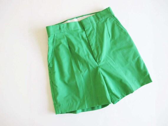Vintage 80s Shorts 26 Small - High Waist Shorts -