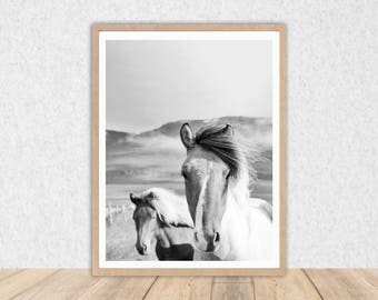 Wall Art // INSTANT DOWNLOAD // Printable Art // Horse // Art Print // Wall Decor // Digital