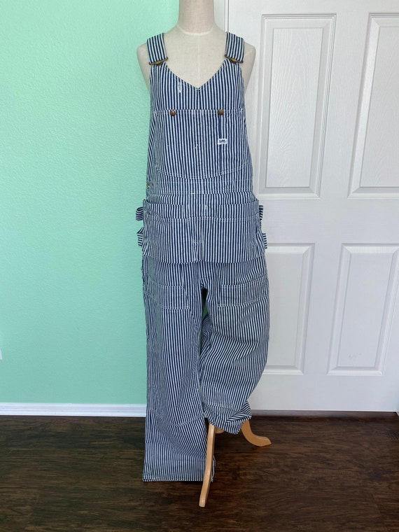 Vintage Lee Sanforized Craftman's  Overalls/with p