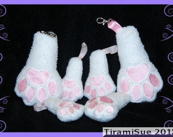 Lucky Rabbits Foot - Machine Embroidery Design - Three Sizes