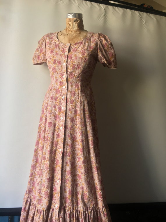 1970s Kalamkari Maxi Dress size Medium by India I… - image 2
