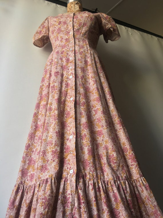 1970s Kalamkari Maxi Dress size Medium by India I… - image 5
