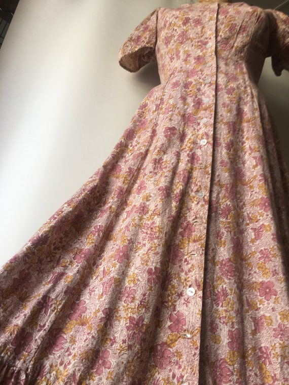 1970s Kalamkari Maxi Dress size Medium by India I… - image 3