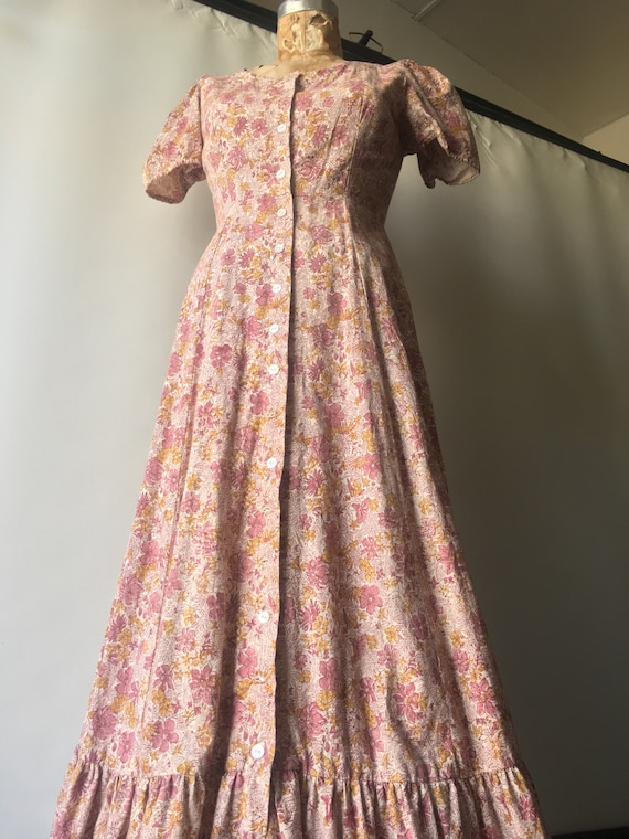 1970s Kalamkari Maxi Dress size Medium by India I… - image 7