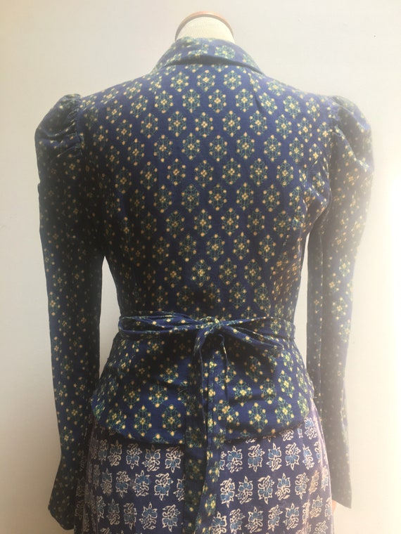 India Imports Two Piece Vintage Set // 1970s Dead… - image 5