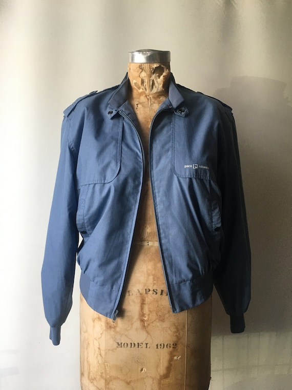 1980s Paco Rabanne Spring Jacket // Men's Small //