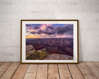 Grand Canyon Print. Grand Canyon Photo. Photography. Travel Print. Arizona.