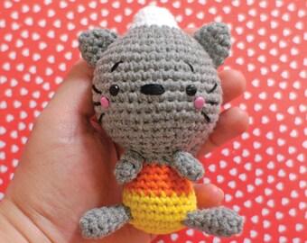 Kitty Corn - crochet amigurumi pattern by lily&puka