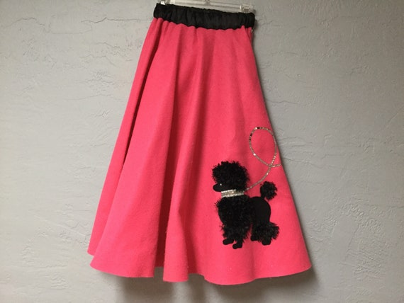 SALE / Sweet Poodle Skirt / Poodle Skirt / Hallowe