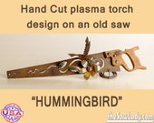 Metal Art Hummingbird and...