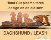 Dachshund Design with Lea...