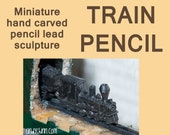 Carved Pencil - Greenline...