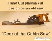 Deer at the Cabin Hand (P...