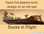 Ducks in flight Hunting s...