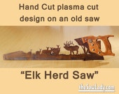 Metal Art Elk Herd Hand (...