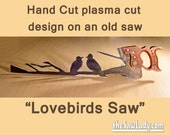 Metal Art Lovebirds desig...