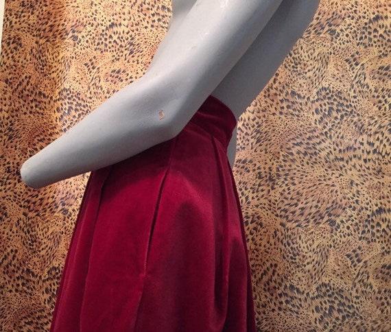 Laura Ashley Velvet Skirt With Pockets - image 6