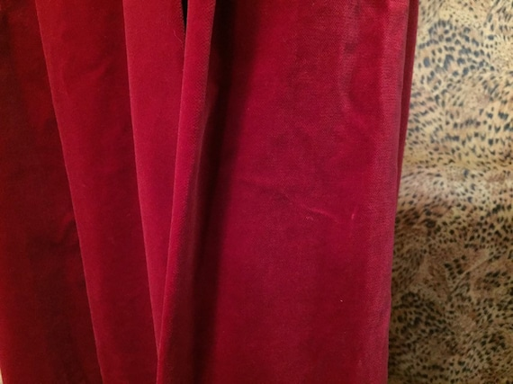 Laura Ashley Velvet Skirt With Pockets - image 10