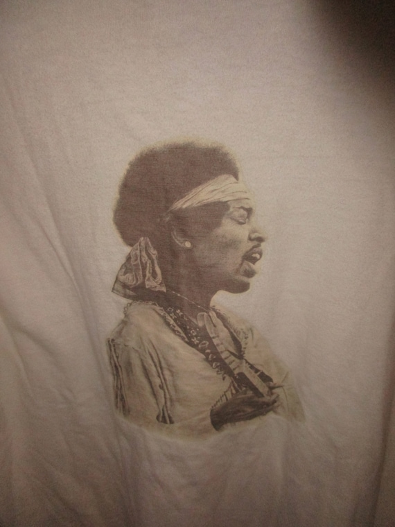 1975 Jimi Hendrix Long Sleeved True Vintage T Shir
