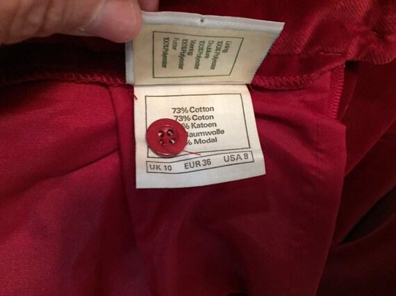 Laura Ashley Velvet Skirt With Pockets - image 9