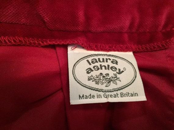 Laura Ashley Velvet Skirt With Pockets - image 8