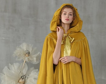 dd1cbc325ad74 hooded cloak in yellow