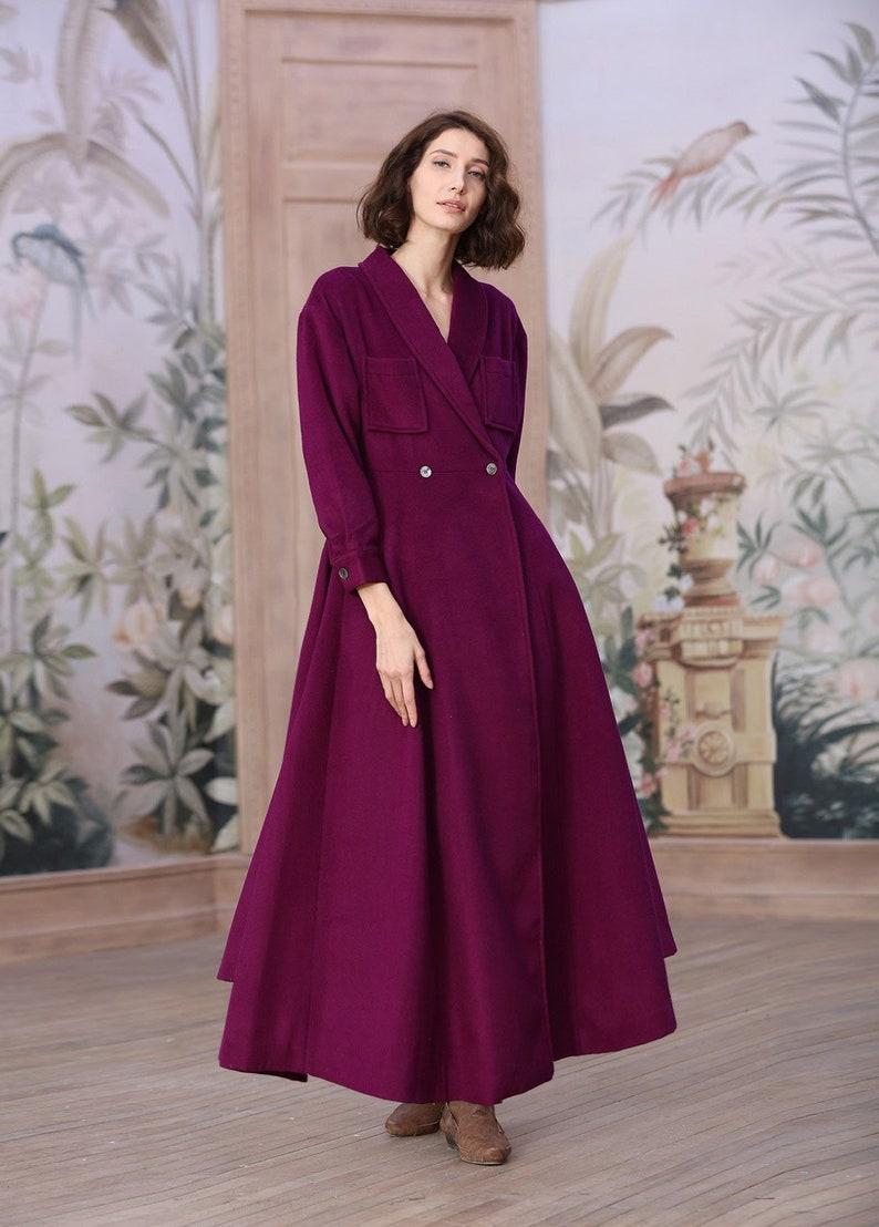 b53903fbcda Wool coat 100% cashmere coat maxi wool coat maxi cashmere