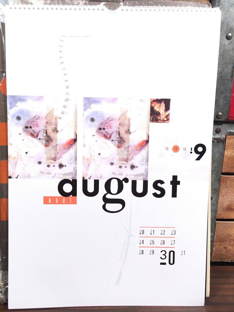 1990 Calendar.Vintage 4ad 1990 10th Anniversary Calendar Vaughan Oliver V23 Graphic Design 2018 Pixies Cocteau Twins Modern English Lush Breeders
