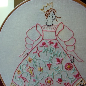 embroidery patterns and accessories for book by littledorritandco