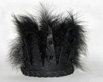 Dark Queen Crown // Evil Queen Crown // by Born Tutu Rock