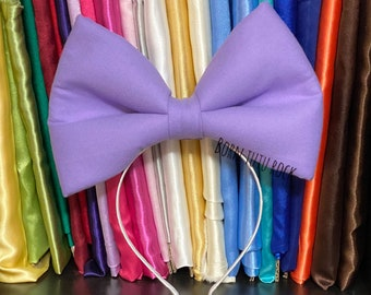 Daisy Bow || Big Lavender Bow || Big Bow || Born Tutu Rock