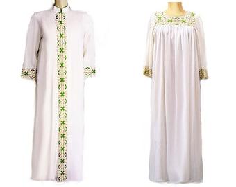 Vintage Radcliff Armetis Bridal Peignoir   Nightgown Set Bridal White  Magnolia wedding night set vintage peignoir set 60s peignoir set desi c6d79bb83