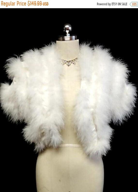 CLEARANCE SALE Glamorous Vintage Fluffy White Mara