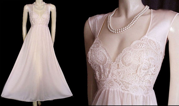 Vintage Rare Style Olga Nightgown XL Extra Large n
