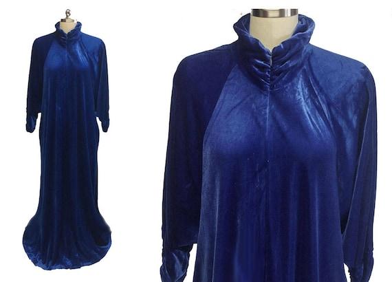 Vintage Keyloun Luxurious Panne Velvet Ruched Dres