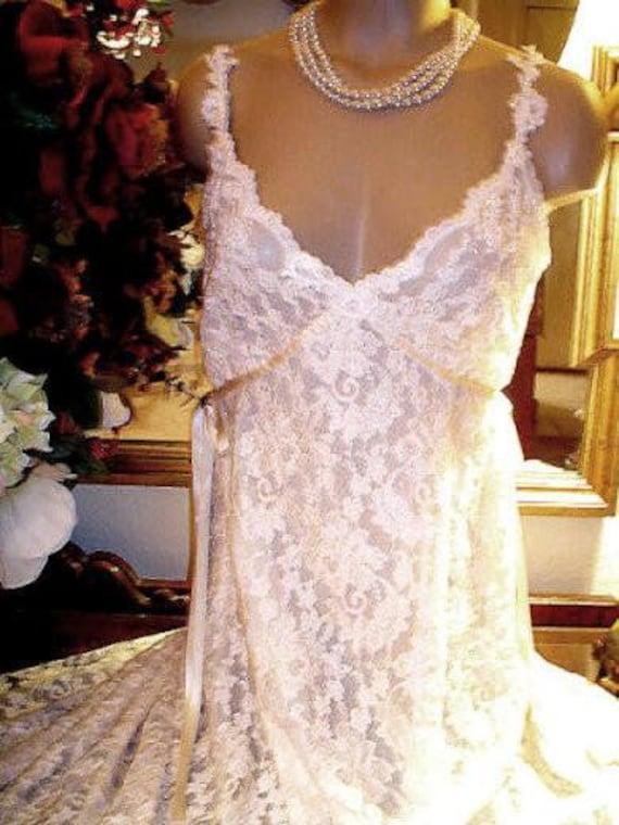 Bleu Clair by Claire Pettibone Leopard /& Rose Print Lounge Dress Cap  Women/'s M
